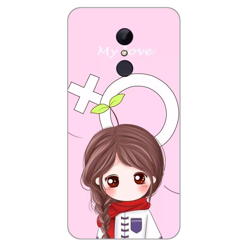 Ốp lưng dẻo cho Xiaomi Redmi 5 plus_Couple Girl 06