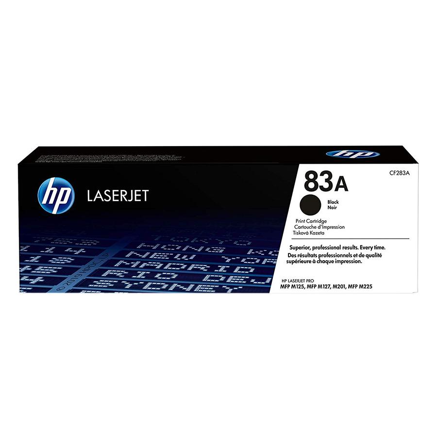 Mực in Laser HP 83A Đen (Máy in HP LaserJet Pro M201n/M201DW/M201D/HP LaserJet Pro MFP M225dn/M225DW/M125A//M127FN/CD283A) - Hàng Chính...