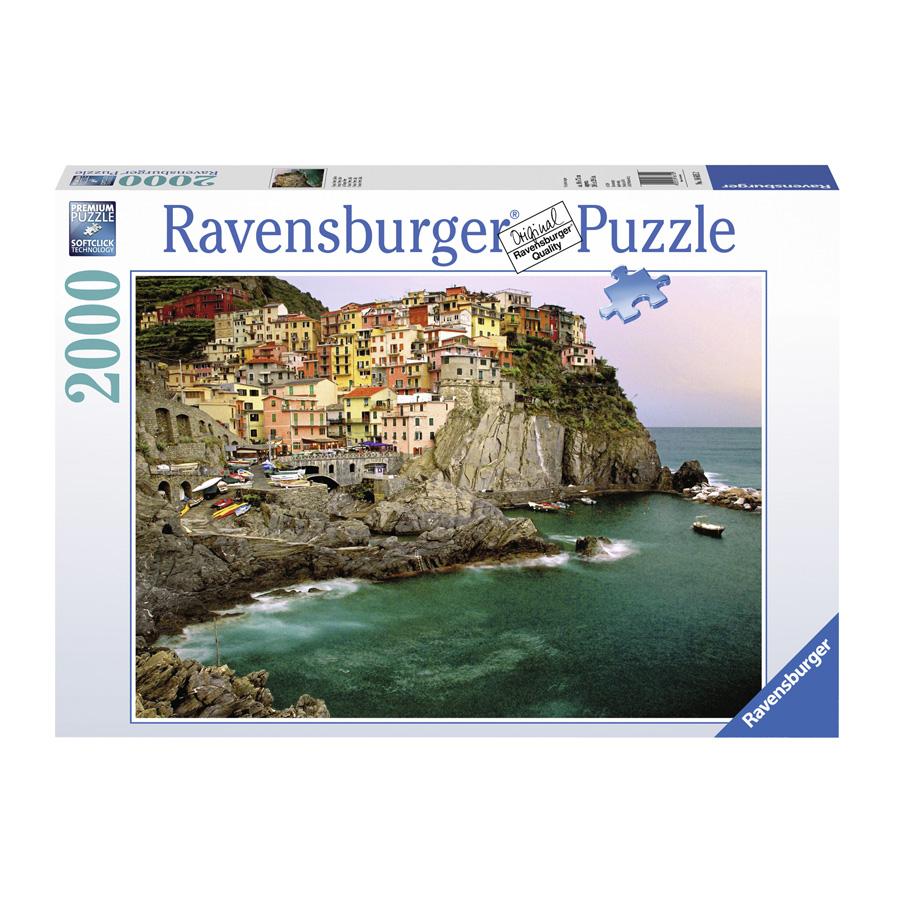 Bộ Xếp Hình Puzzle Ravensburger Cinque Terre, Italy RV16615 2 (2000 Mảnh)