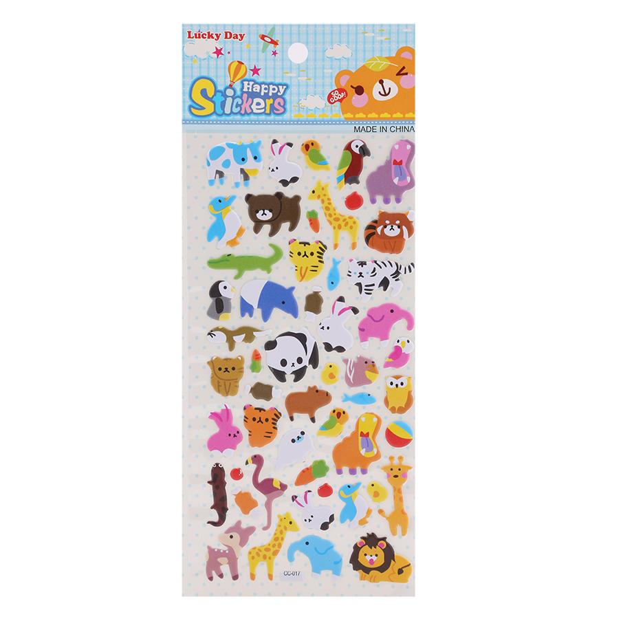 Sticker Dán Nổi Cho Bé - CC017