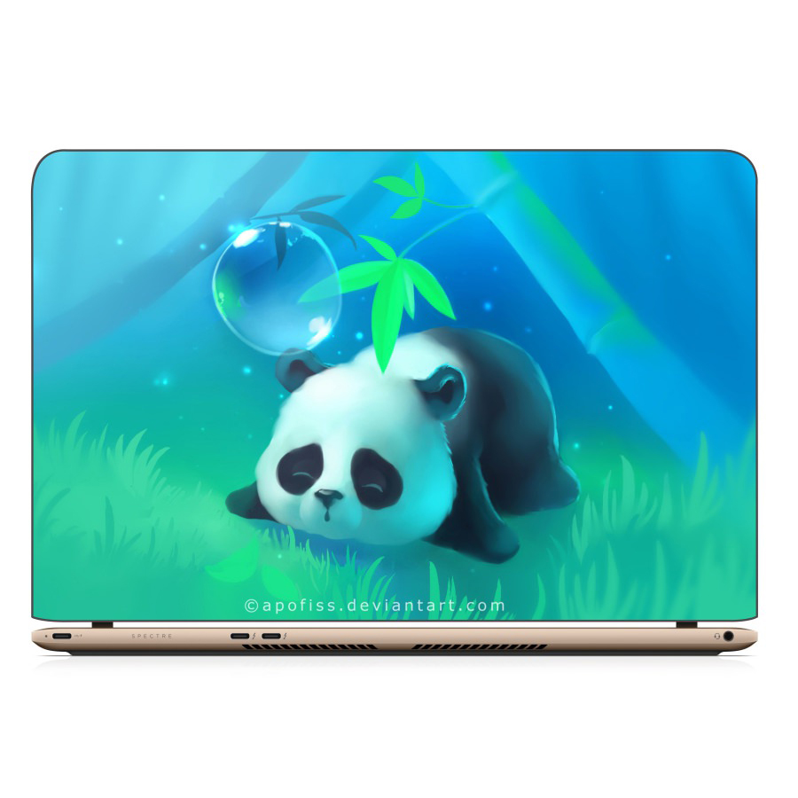 Miếng Dán Decal Laptop Hoạt Hình Dễ Thương - Mã DCLTHH142