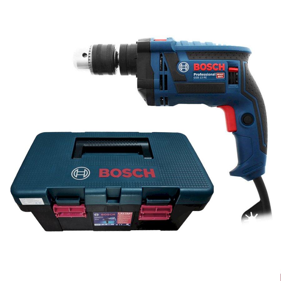 Máy khoan động lực Bosch GSB 13RE - Tặng bộ phụ kiện FREEDOM 90 chi tiết - 1021593 , 8938514557012 , 62_2992245 , 2430000 , May-khoan-dong-luc-Bosch-GSB-13RE-Tang-bo-phu-kien-FREEDOM-90-chi-tiet-62_2992245 , tiki.vn , Máy khoan động lực Bosch GSB 13RE - Tặng bộ phụ kiện FREEDOM 90 chi tiết