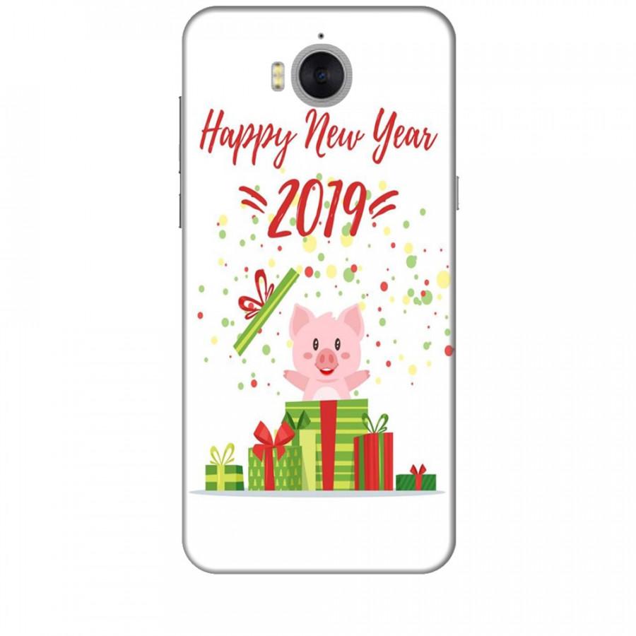 Ốp lưng dành cho điện thoại HUAWEI Y5 2017 Happy New Year Mẫu 3