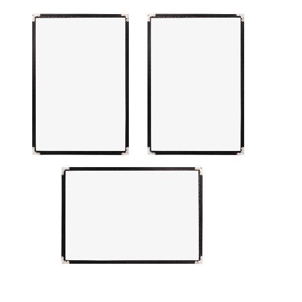 Bộ 3 bìa thực đơn 2 trang Urimenu trong suốt A4 viền may 2 kim màu đen cho nhà hàng, quán cafe - 998785 , 7104901221625 , 62_2715817 , 111000 , Bo-3-bia-thuc-don-2-trang-Urimenu-trong-suot-A4-vien-may-2-kim-mau-den-cho-nha-hang-quan-cafe-62_2715817 , tiki.vn , Bộ 3 bìa thực đơn 2 trang Urimenu trong suốt A4 viền may 2 kim màu đen cho nhà hàng, q