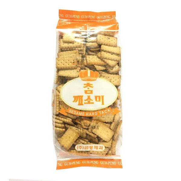 Bánh Qui Lúa Mạch Vị Vừng Geum Pung 270 Gram - Nhập Khẩu Hàn Quốc