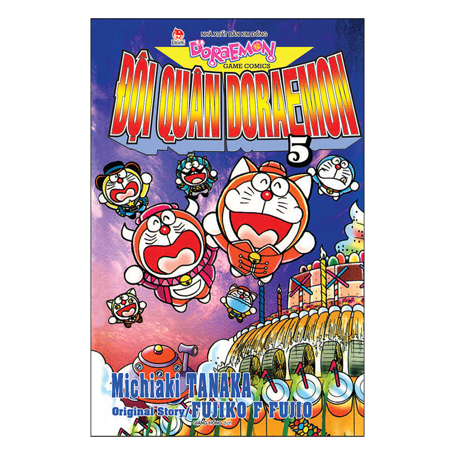 Đội Quân Doraemon - Tập 5 (Tái Bản 2019)