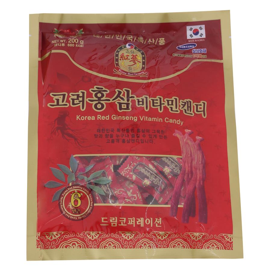Kẹo Hồng Sâm Vitamin Daegoung Food TP0014 (200g)