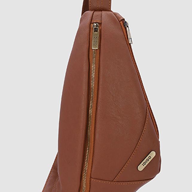 Túi đeo chéo trước ngực nam IDIGO MB2-328-00