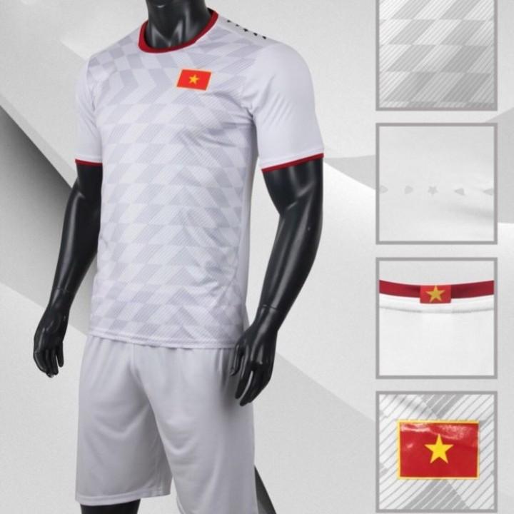 Bộ quần áo đá bóng quấn áo thể thao nam đội tuyển VIỆT NAM màu trắng - 2186853 , 1953773314289 , 62_14039090 , 180000 , Bo-quan-ao-da-bong-quan-ao-the-thao-nam-doi-tuyen-VIET-NAM-mau-trang-62_14039090 , tiki.vn , Bộ quần áo đá bóng quấn áo thể thao nam đội tuyển VIỆT NAM màu trắng