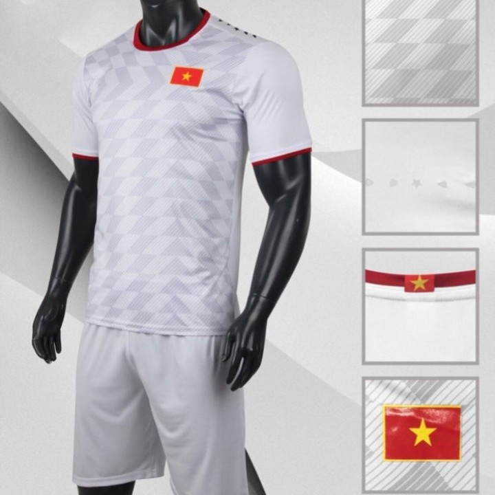 Bộ quần áo đá bóng quấn áo thể thao nam đội tuyển VIỆT NAM màu trắng - 2186855 , 8251472448636 , 62_14039094 , 180000 , Bo-quan-ao-da-bong-quan-ao-the-thao-nam-doi-tuyen-VIET-NAM-mau-trang-62_14039094 , tiki.vn , Bộ quần áo đá bóng quấn áo thể thao nam đội tuyển VIỆT NAM màu trắng