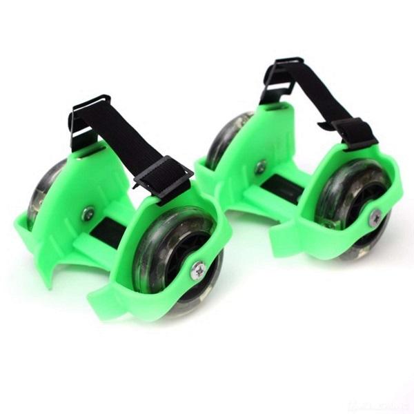 Bánh xe gắn Giày trượt patin có đèn Led