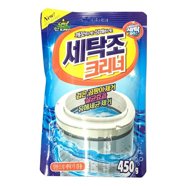 Bột tẩy vệ sinh lồng máy giặt Sandokkaebi 450 Gram - Nhập Khẩu Hàn Quốc - 6099718 , 8895215056483 , 62_8381662 , 61000 , Bot-tay-ve-sinh-long-may-giat-Sandokkaebi-450-Gram-Nhap-Khau-Han-Quoc-62_8381662 , tiki.vn , Bột tẩy vệ sinh lồng máy giặt Sandokkaebi 450 Gram - Nhập Khẩu Hàn Quốc
