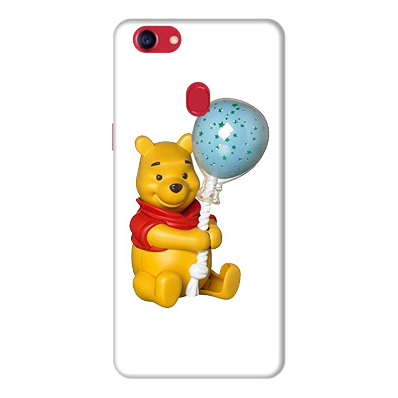 Ốp Lưng Dành Cho Điện Thoai Oppo F7 Gấu Pooh - Mẫu 5