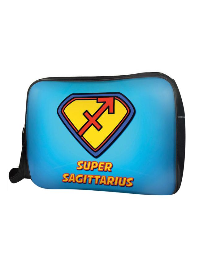 Túi Đeo Chéo Hộp Unisex Cung Nhân Mã Superman - Tczs009
