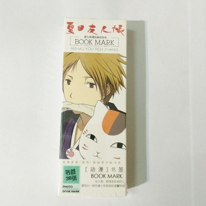 Bookmark Anime Hữu Nhân Sổ hộp 36 tấm