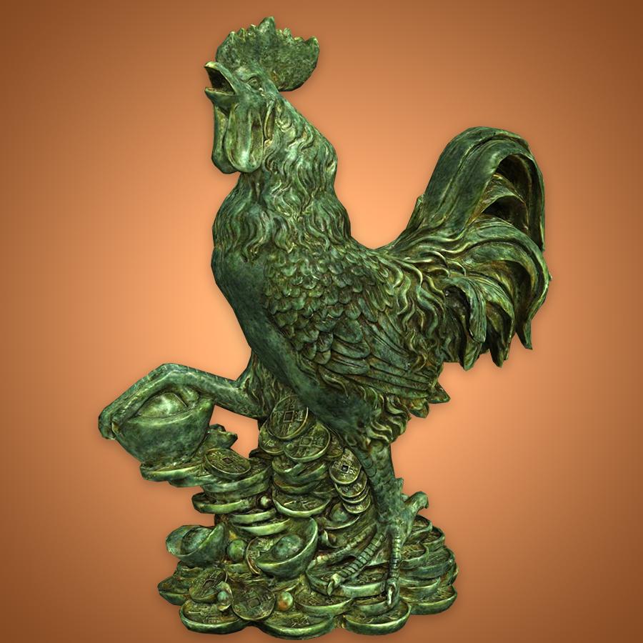 Tượng con gà trống - GA005