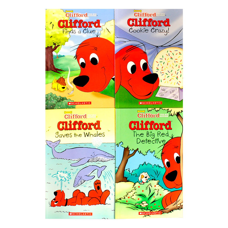 Clifford Chapter Book Box Set (With CD) - 1090990 , 3931391959523 , 62_3854667 , 540000 , Clifford-Chapter-Book-Box-Set-With-CD-62_3854667 , tiki.vn , Clifford Chapter Book Box Set (With CD)