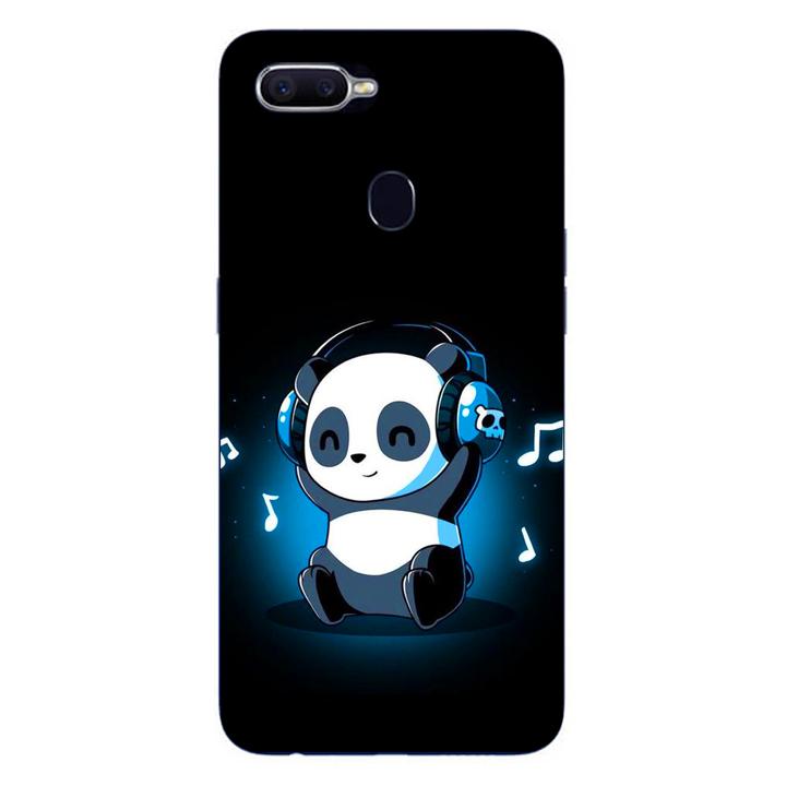 Ốp lưng dẻo cho điện thoại Oppo F9_Panda 05