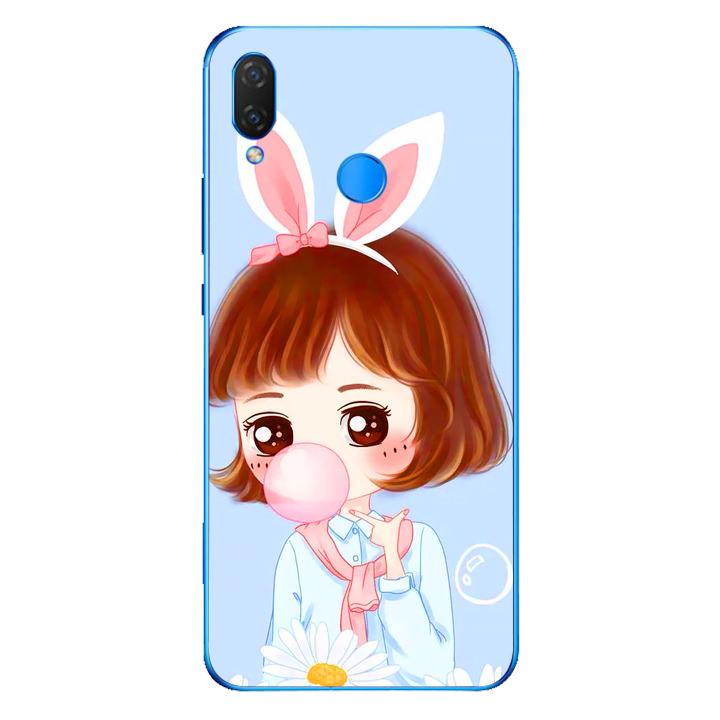 Ốp lưng dẻo cho điện thoại Huawei Y9 2019 - Baby Girl 03
