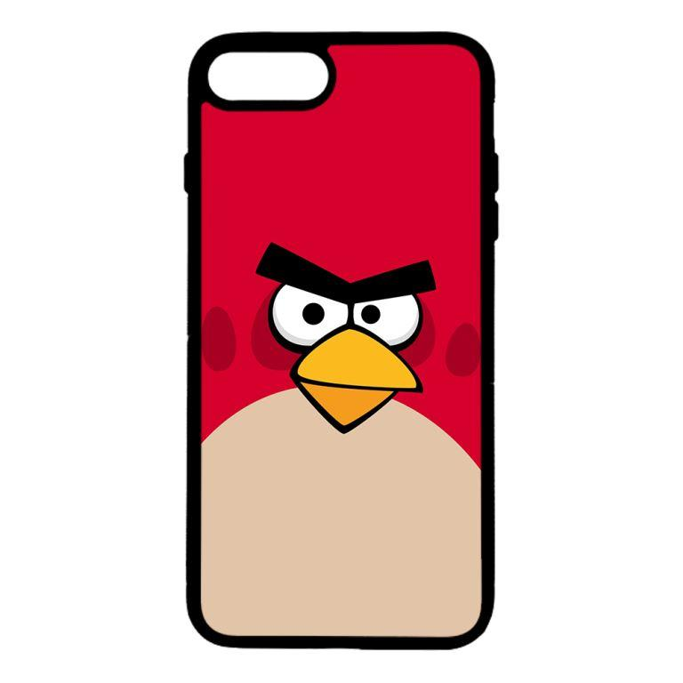 Ốp lưng dành cho điện thoại Iphone 7 Plus Angry Đỏ