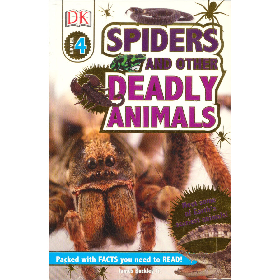 DK Readers L4: Spiders and other Deadly Animals - 1235022 , 2822809562859 , 62_5263297 , 109000 , DK-Readers-L4-Spiders-and-other-Deadly-Animals-62_5263297 , tiki.vn , DK Readers L4: Spiders and other Deadly Animals