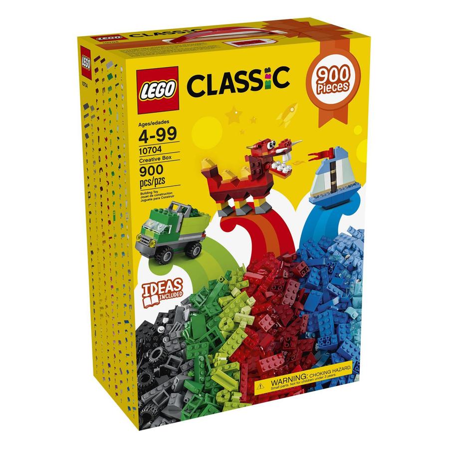 Bộ Lắp Ghép LEGO CLASSIC Sáng Tạo 10704 (900 Mảnh Ghép) - 9425873 , 5322107059213 , 62_851264 , 1559000 , Bo-Lap-Ghep-LEGO-CLASSIC-Sang-Tao-10704-900-Manh-Ghep-62_851264 , tiki.vn , Bộ Lắp Ghép LEGO CLASSIC Sáng Tạo 10704 (900 Mảnh Ghép)