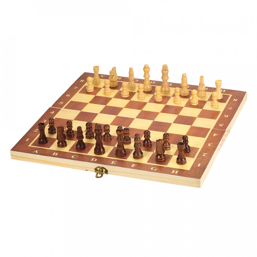 Wooden Chess Set International Chess Entertainment Game Chess Set with Folding Board - 1880916 , 5011603952202 , 62_14358448 , 257000 , Wooden-Chess-Set-International-Chess-Entertainment-Game-Chess-Set-with-Folding-Board-62_14358448 , tiki.vn , Wooden Chess Set International Chess Entertainment Game Chess Set with Folding Board