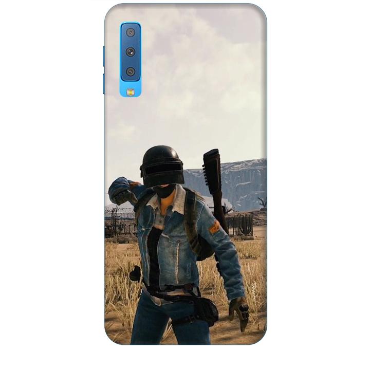 Ốp lưng dành cho điện thoại  SAMSUNG GALAXY A7 2018 hinh PUBG Mẫu 07