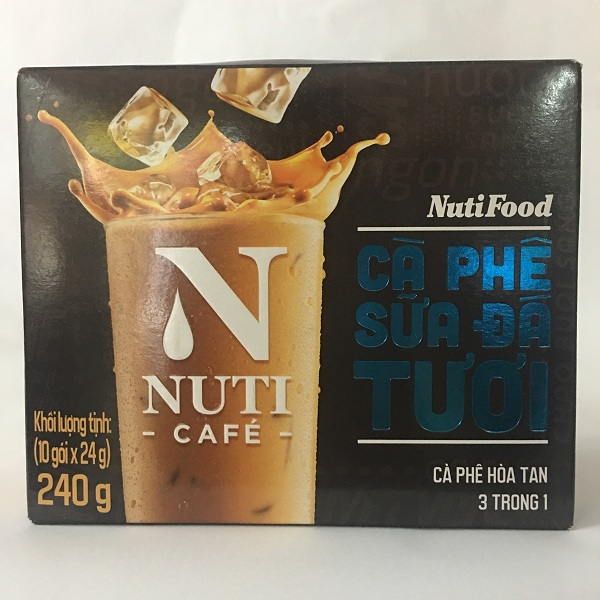 Cà phê sữa đá tươi Nuti cafe