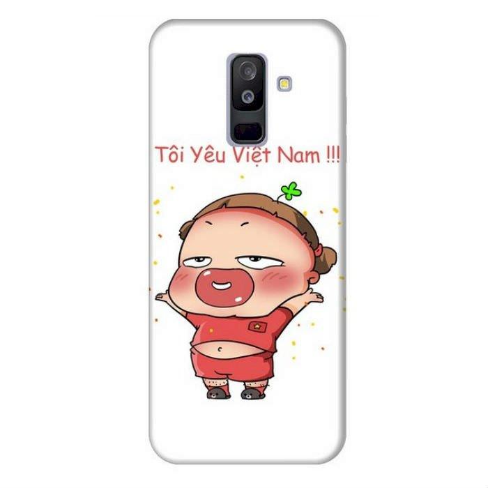 Ốp Lưng Dành Cho Samsung Galaxy A6 Plus 2018 Quynh Aka 1