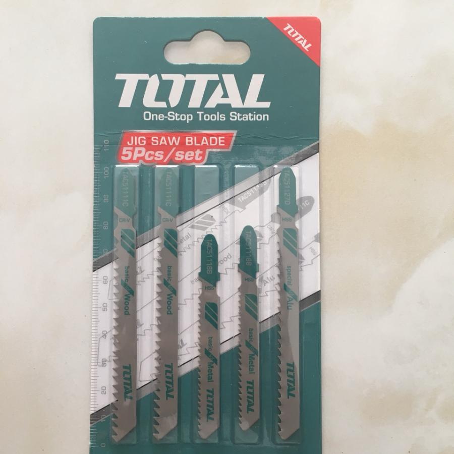 Bộ Lưỡi Cưa Lọng 5 Chi Tiết Total - TAC51051