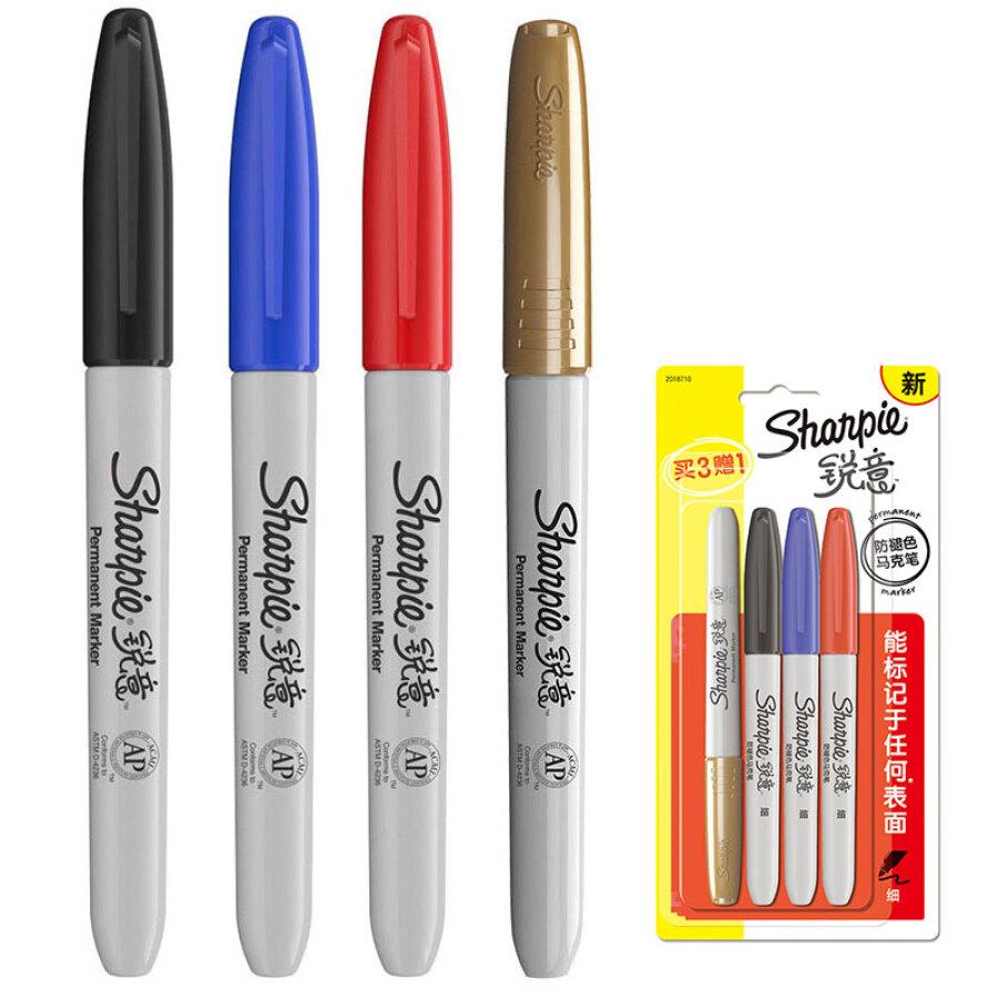 Bộ Bút Lông 4 Màu Sharpie