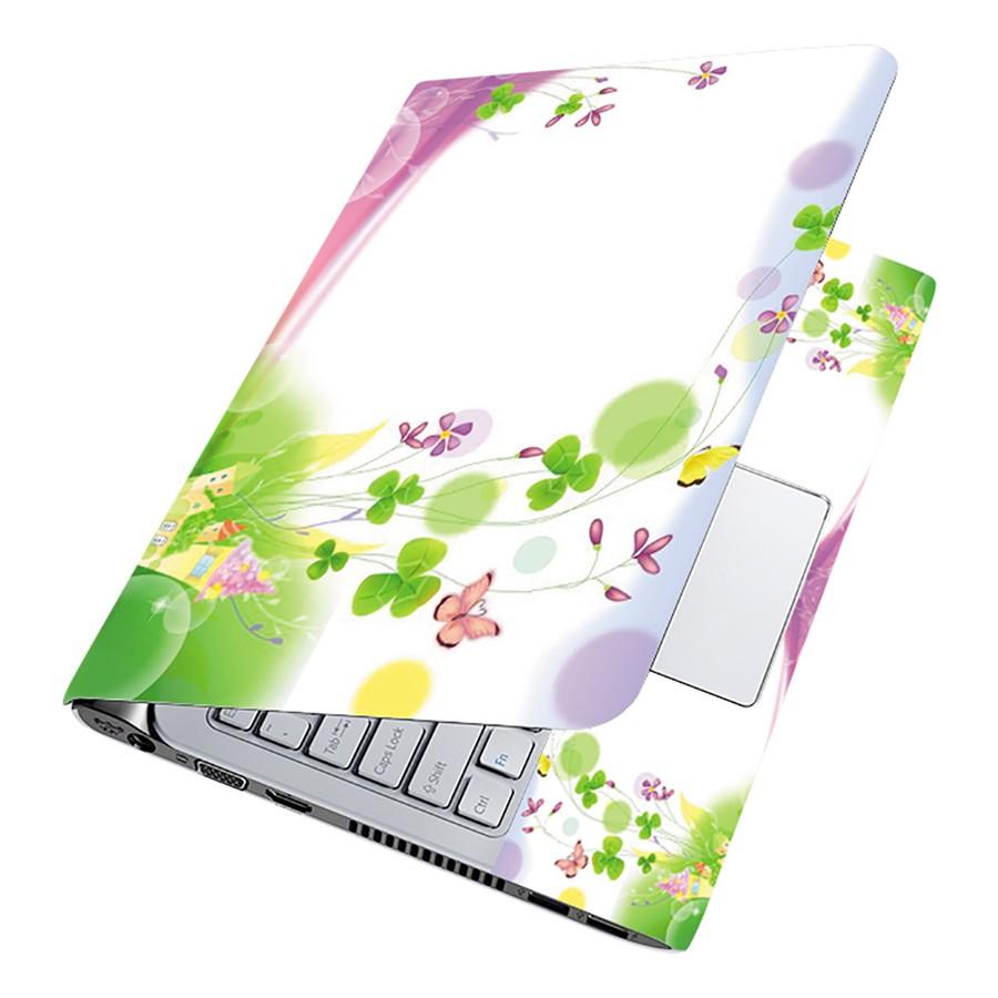 Miếng Dán Decal Dành Cho Laptop Mẫu Hoa Văn LTHV-204