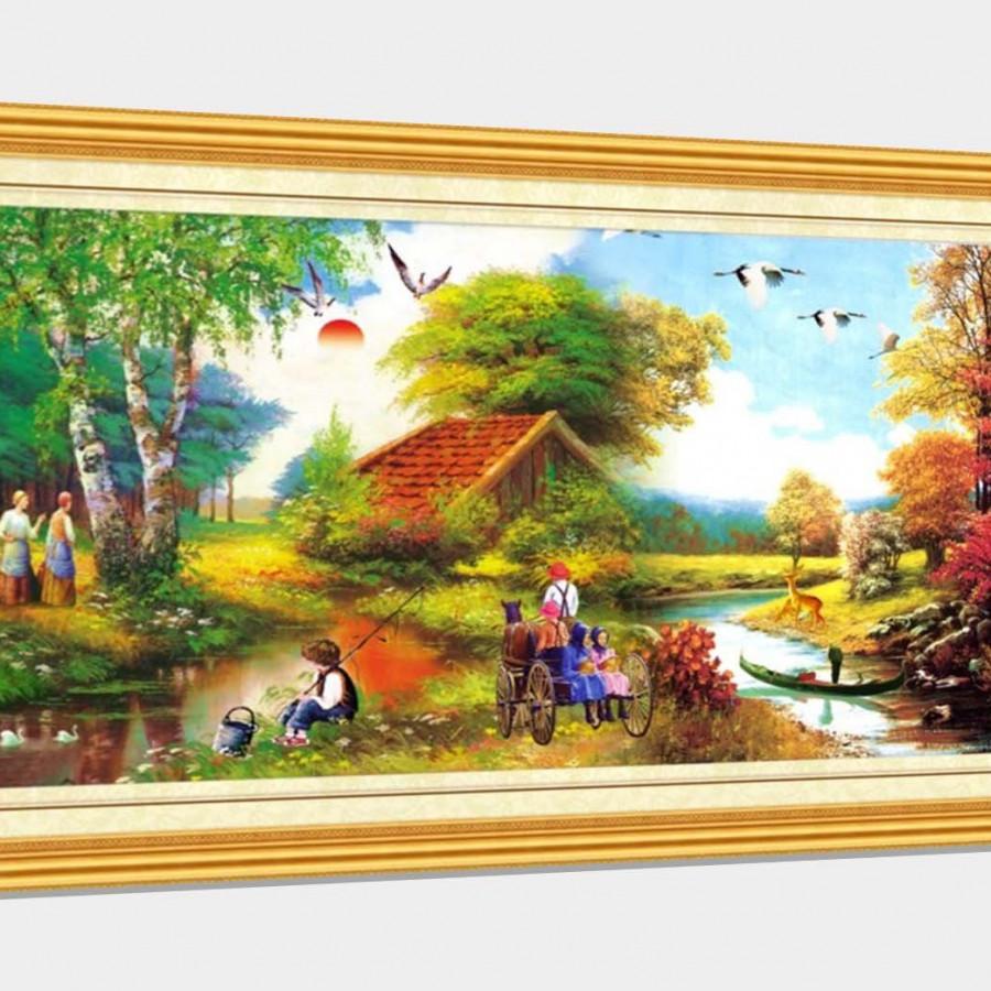 Tranh sơn dầu phong cảnh Châu Âu đặc sắc - tranh gỗ treo tường cao cấp - SD74x - 849432 , 6051979105085 , 62_13805301 , 900000 , Tranh-son-dau-phong-canh-Chau-Au-dac-sac-tranh-go-treo-tuong-cao-cap-SD74x-62_13805301 , tiki.vn , Tranh sơn dầu phong cảnh Châu Âu đặc sắc - tranh gỗ treo tường cao cấp - SD74x
