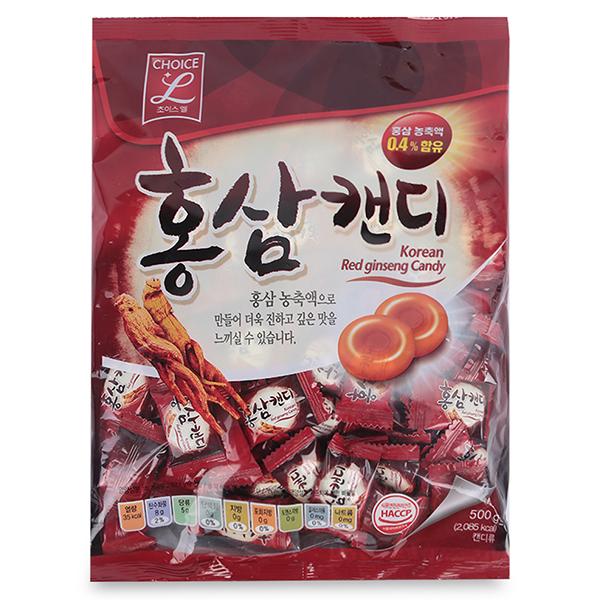 Kẹo Hồng Sâm Choice L (GS) (500g)