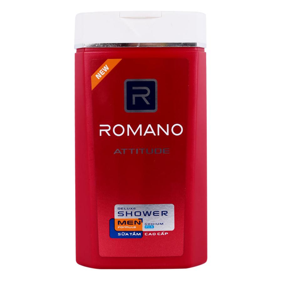 Sữa Tắm Cao Cấp Romano Attitude Chai (380g)