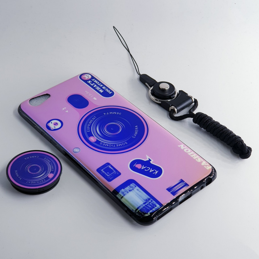 Ốp lưng hình máy ảnh kèm giá đỡ và dây đeo dành cho Vivo V11i,Vivo V15,Vivo Y71 - 2353056 , 1984756825416 , 62_15351011 , 150000 , Op-lung-hinh-may-anh-kem-gia-do-va-day-deo-danh-cho-Vivo-V11iVivo-V15Vivo-Y71-62_15351011 , tiki.vn , Ốp lưng hình máy ảnh kèm giá đỡ và dây đeo dành cho Vivo V11i,Vivo V15,Vivo Y71