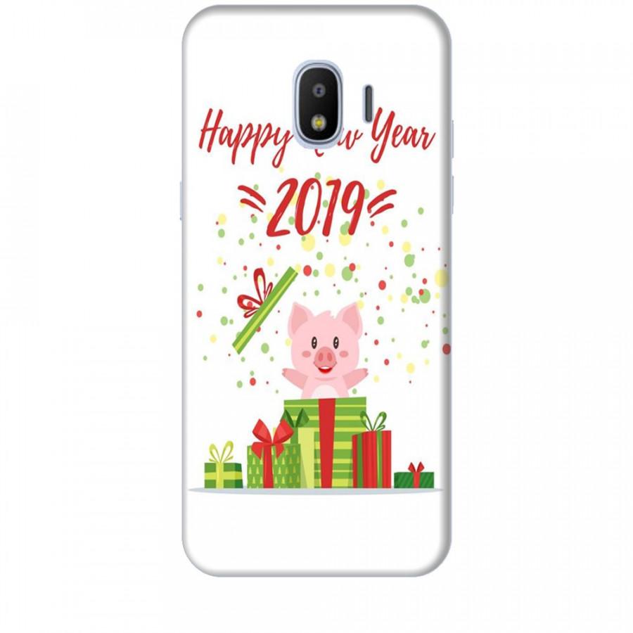 Ốp lưng dành cho điện thoại  SAMSUNG GALAXY J2 PRO Happy New Year Mẫu 3