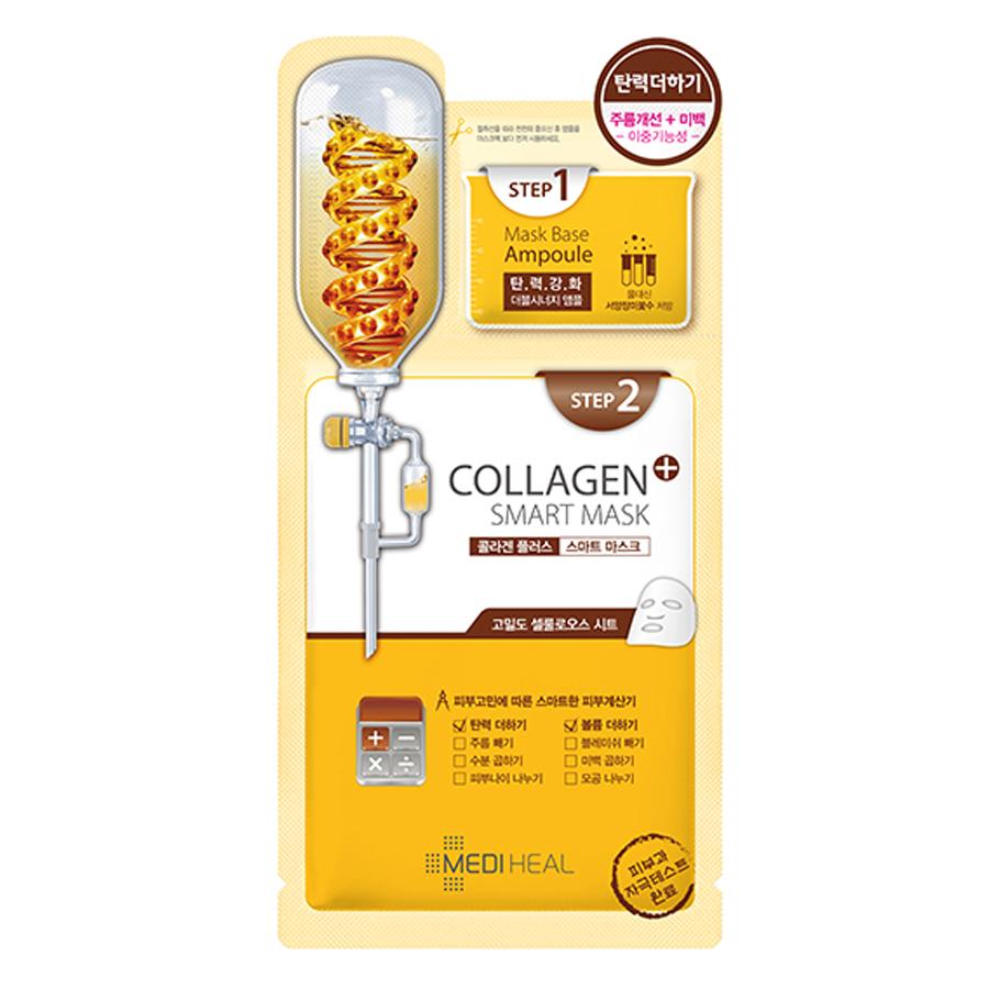 Mặt Nạ Hai Bước Collagen Mediheal Ngăn Ngừa Lão Hóa Cho Da (25ml)
