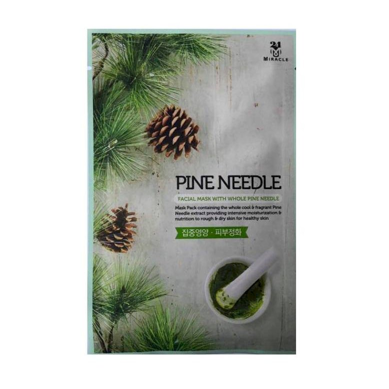 Mặt nạ 24MIRACLE Facial Mask With Whole Pine Needle