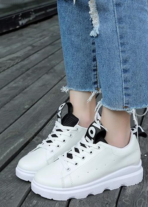 Giày Sneaker Nữ Phong Cách Hàn Quốc TT055D