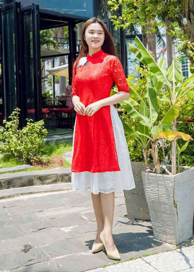 Áo dài cách tân ren đỏ phối chân váy trắng - 2240647 , 9040176809770 , 62_14382035 , 650000 , Ao-dai-cach-tan-ren-do-phoi-chan-vay-trang-62_14382035 , tiki.vn , Áo dài cách tân ren đỏ phối chân váy trắng