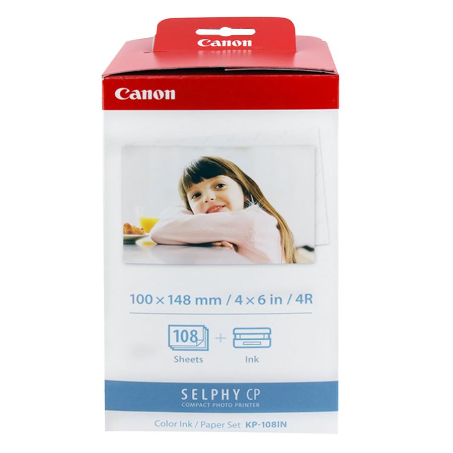 Giấy Và Mực In Ảnh Nhiệt Canon KP108 Cho Máy In Canon SELPHY CP1200, SELPHY CP1000, SELPHY CP910 - Hàng Nhập Khẩu - 5262337 , 3056115753697 , 62_15389840 , 750000 , Giay-Va-Muc-In-Anh-Nhiet-Canon-KP108-Cho-May-In-Canon-SELPHY-CP1200-SELPHY-CP1000-SELPHY-CP910-Hang-Nhap-Khau-62_15389840 , tiki.vn , Giấy Và Mực In Ảnh Nhiệt Canon KP108 Cho Máy In Canon SELPHY CP1200