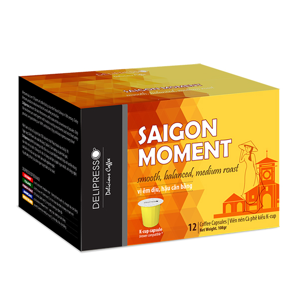 Cà phê Delipresso Sài Gòn Moment 12 viênx 9g - Phương Vy