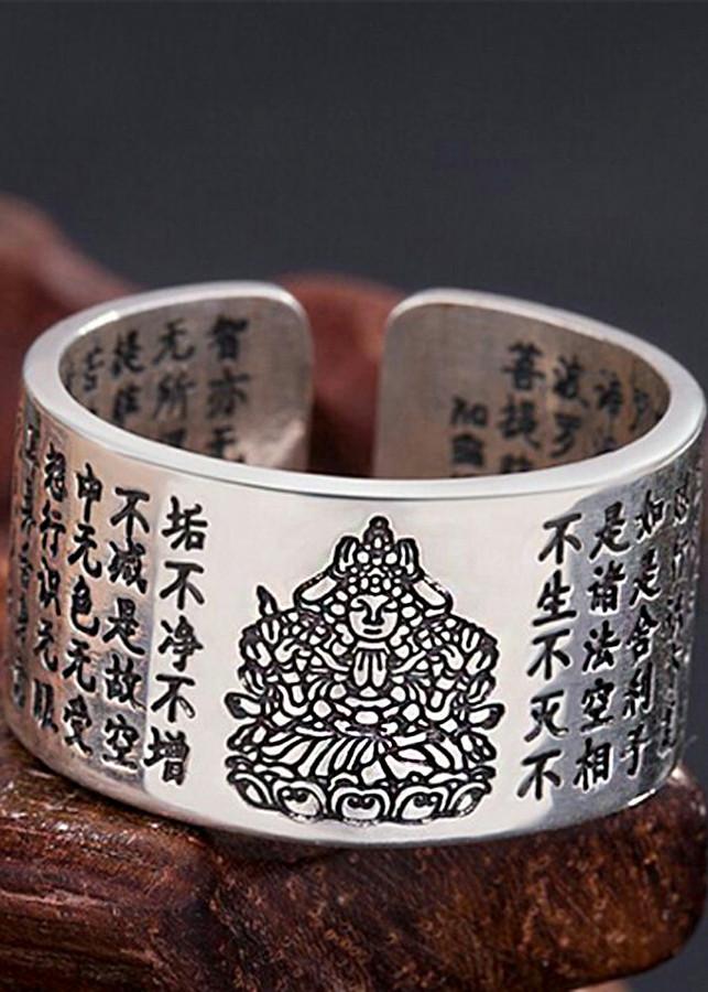 Nhẫn Phật Bản Mệnh Thiên Thủ Thiên Nhãn - Tuổi Tý