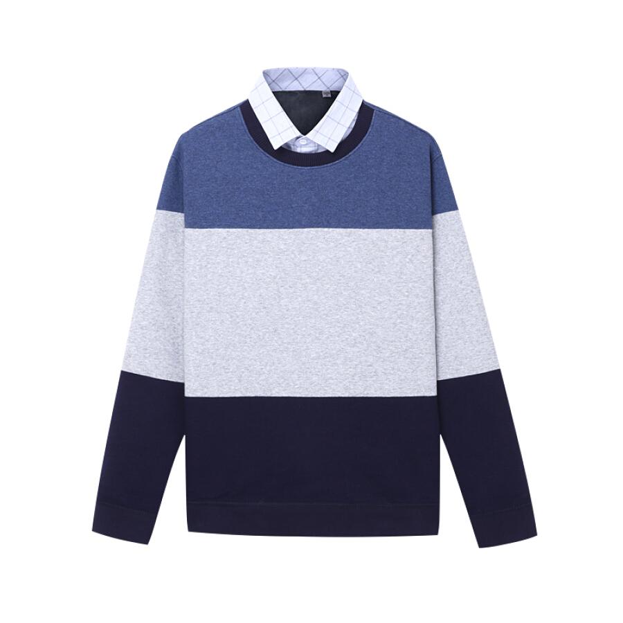 Áo Sweater Cổ Sơ Mi Cho Nam Red Bean Hodo