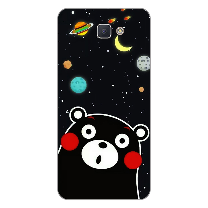 Ốp lưng dẻo Nettacase cho điện thoại Samsung Galaxy J5 Prime _0345 BEAR03 - Hàng Chính Hãng