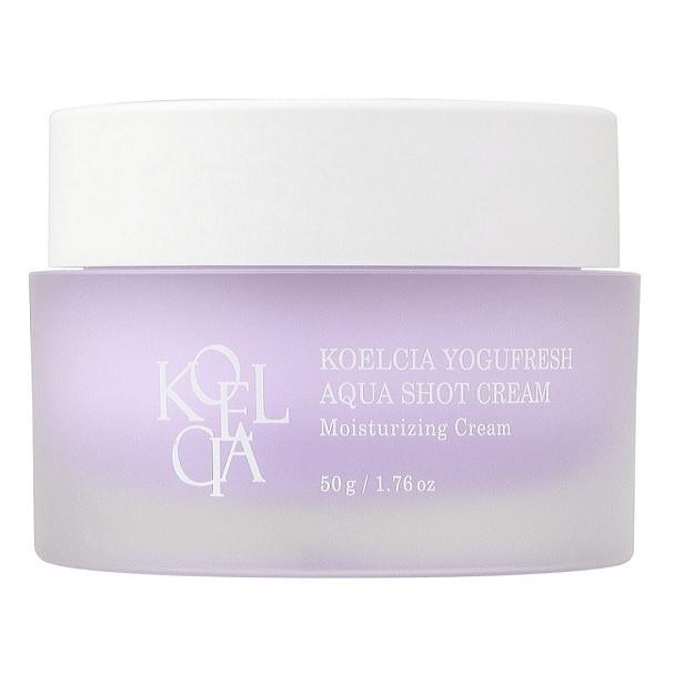 Kem dưỡng ẩm cho da mặt Koelcia yogufresh aqua shot cream 50g