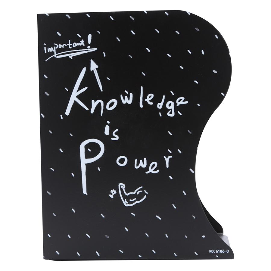 Kệ Chặn Sách Xếp - Knowledge Is Power