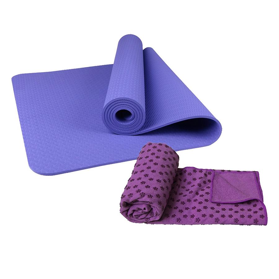 Combo Thảm tập yoga TPE 8mm 1 lớp + Khăn trải thảm hạt nổi silicon (Tặng túi đựng thảm vs dây buộc) - 9396521 , 7296613344164 , 62_2740521 , 650000 , Combo-Tham-tap-yoga-TPE-8mm-1-lop-Khan-trai-tham-hat-noi-silicon-Tang-tui-dung-tham-vs-day-buoc-62_2740521 , tiki.vn , Combo Thảm tập yoga TPE 8mm 1 lớp + Khăn trải thảm hạt nổi silicon (Tặng túi đựng t